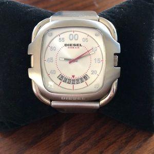Men's Diesel Leather Watch